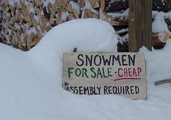 Snow Man for sale